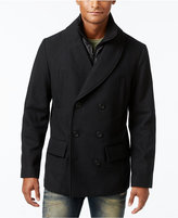 American Rag Men's Shawl-Collar Peacoat with Zip Bib, Only at Macy's