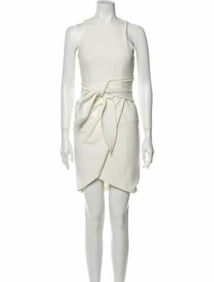 Cinq à Sept 2019 Mini Dress w/ Tags White