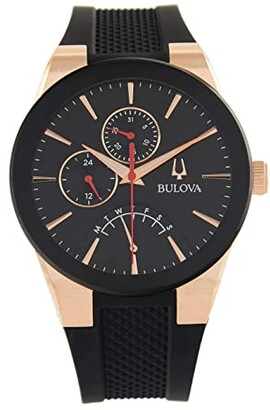 Bulova Futuro Strap - 97C111 (Rose Gold) Watches