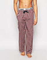 Tokyo Laundry Loungepants In Gingham With Contrast Waistband