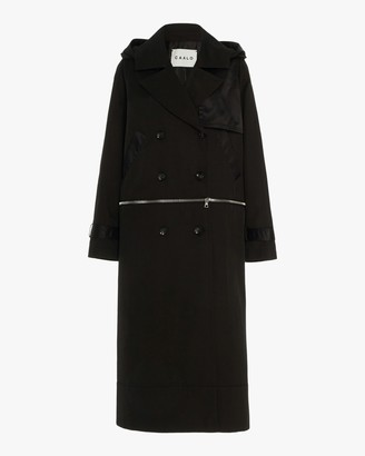 Caalo Sustainable Convertible Hooded Trench