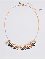 M&S Collection Ball Dropper Necklace