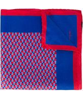 Kiton printed pocket square - men - Silk - One Size