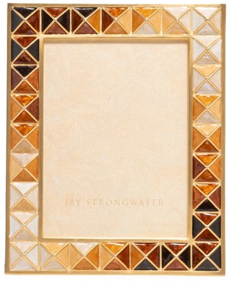 Jay Strongwater Pyramid Picture Frame