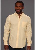 Ben Sherman Laundered Oxford Chambray L/S Woven Shirt (Yellow) - Apparel