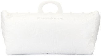 MM6 MAISON MARGIELA logo shopping tote