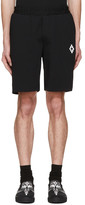 Marcelo Burlon County of Milan Black Paco Shorts