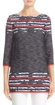 St. John Women's Anguilla Floral Jacquard Sweater