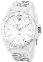 Juicy Couture Women's 1901135 Juicy Sport Analog Display Quartz White Watch