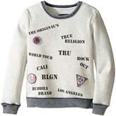 True Religion Stamp Sweatshirt (Toddler/Little Kids)