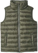 Joe Fresh Kid Boys' Zip-Up Liner Vest, Dark Olive (Size XL)