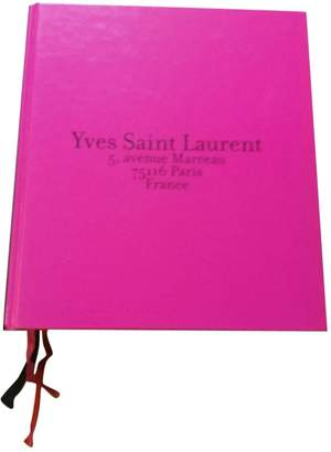 Saint Laurent Pink Wood Photography