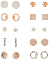 Accessorize 10x Shapes Stud Earrings Pack
