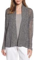 Eileen Fisher Women's Boxy Organic Linen Cardigan