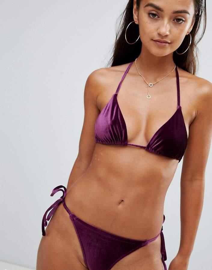 7472888d4a Asos Purple Women's Swimwear - ShopStyle