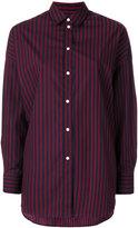 IRO long-sleeved striped shirt - women - Cotton - 34