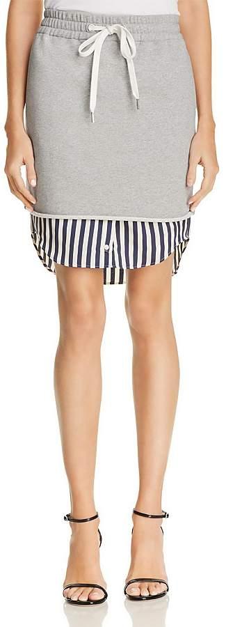 Alexander Wang Layered-Look Skirt
