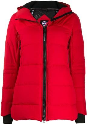 Canada Goose Shelbourne zipped padded coat