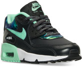 Nike Girls' Air Max 90 SE Leather Running Sneakers from Finish Line