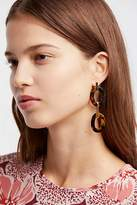 A.V. Max Resin Link Drop Hoops by at Free People