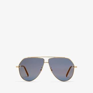 Stella McCartney SC0063SI (Gold/Bronze) Fashion Sunglasses