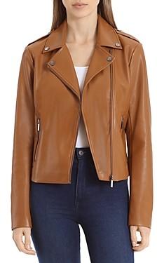 Bagatelle Faux Leather Moto Jacket