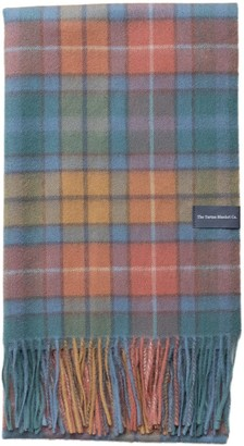 The Tartan Blanket Co. Lambswool Oversized Scarf In Buchanan Antique Tartan