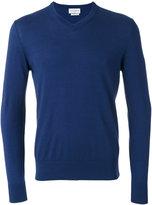 Ballantyne V-neck jumper - men - Cotton/Cashmere - 46