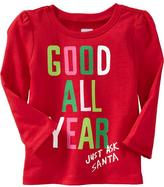 Old Navy Graphic Long-Sleeve Tees for Baby