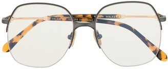 Karen Walker Valentina oversized frame glasses
