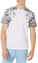 Topman Men's Rose Print T-Shirt