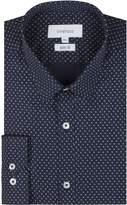 Limehaus Men's Navy Teardrop Print Shirt