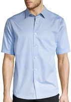 Claiborne Short-Sleeve True Vista All-Over Printed Shirt