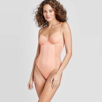 Women's Unlined Underwire Bodysuit - AudenTM Dark