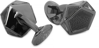 Tateossian Caviar Gunmetal Cufflinks