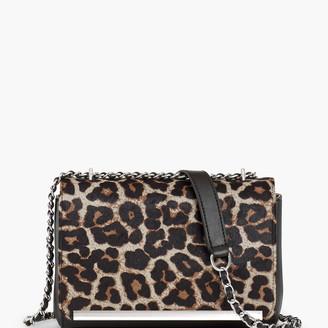 Talbots Calf Hair Leopard Shoulder Bag