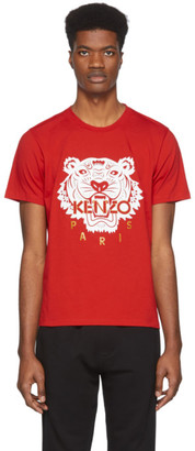 Kenzo Red Limited Edition Chinese New Year Classic Tiger T-Shirt