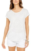 Style&Co. Style & Co Printed Graphic Top, Created For Macy's
