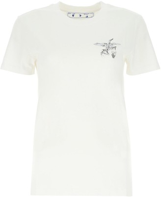 Off-White Birds Print T-Shirt