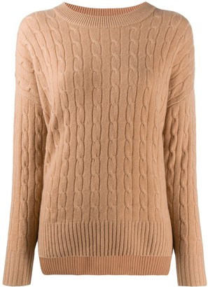 N.Peal Low Hem Cashmere Jumper