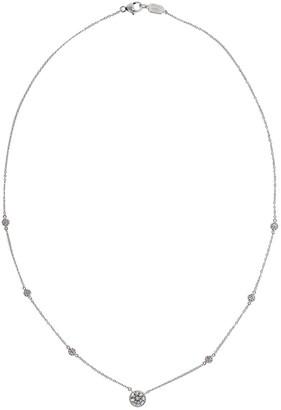 Kwiat 18kt White Gold Diamond Pendant Necklace