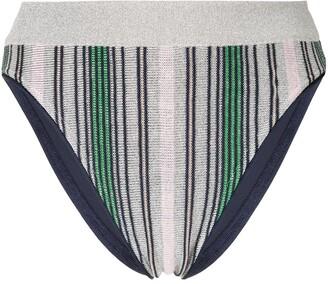 SUBOO Elvira Knit Stripe Bikini Bottom