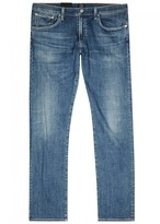 Citizens of Humanity Redford Blue Straight-leg Jeans