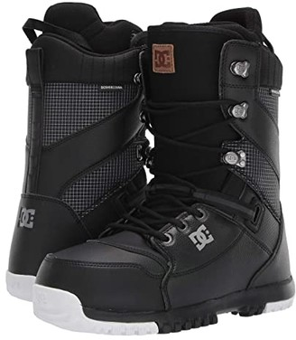 DC Mutiny Lace Snowboard Boot (Black) Men's Snow Shoes