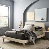 west elm Mod Upholstered Platform Bed - Cream
