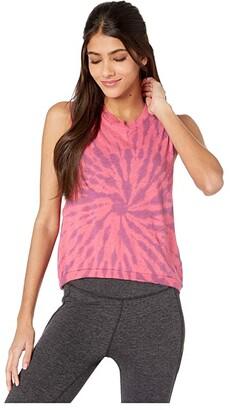 FP Movement Love Tank Top Tie-Dye (Pink) Women's Workout