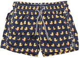 MC2 Saint Barth Ducks Print Nylon Swim Shorts