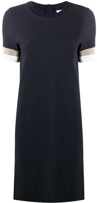 HUGO BOSS Striped Sleeve Dress