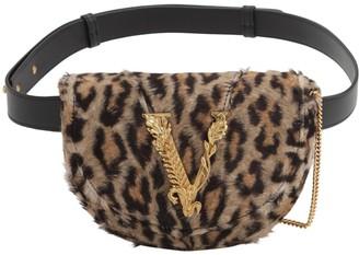 Versace Leopard Printed Belt Bag