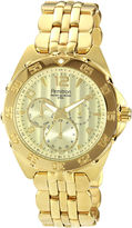 JCPenney Armitron Mens Gold-Plated Chronograph Watch